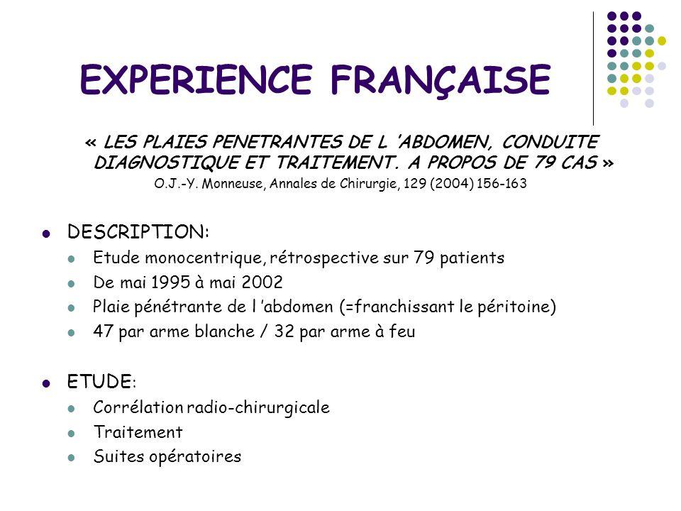 O.J.-Y. Monneuse, Annales de Chirurgie, 129 (2004) 156-163