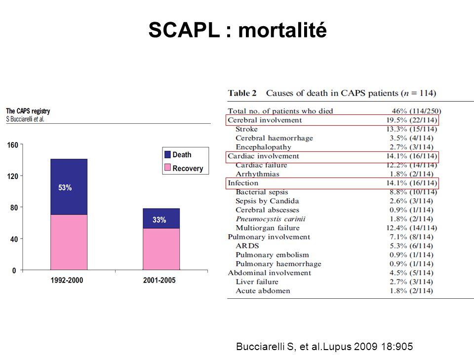 Bucciarelli S, et al.Lupus 2009 18:905