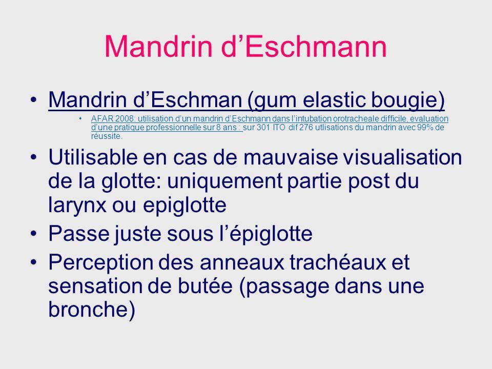 Mandrin d'Eschmann Mandrin d'Eschman (gum elastic bougie)