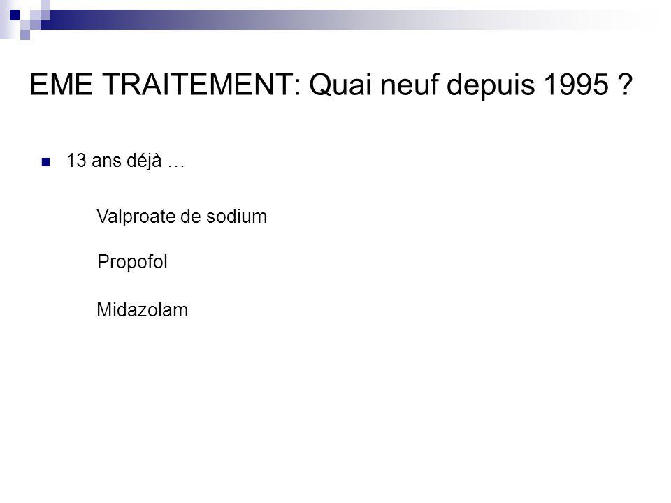 EME TRAITEMENT: Quai neuf depuis 1995