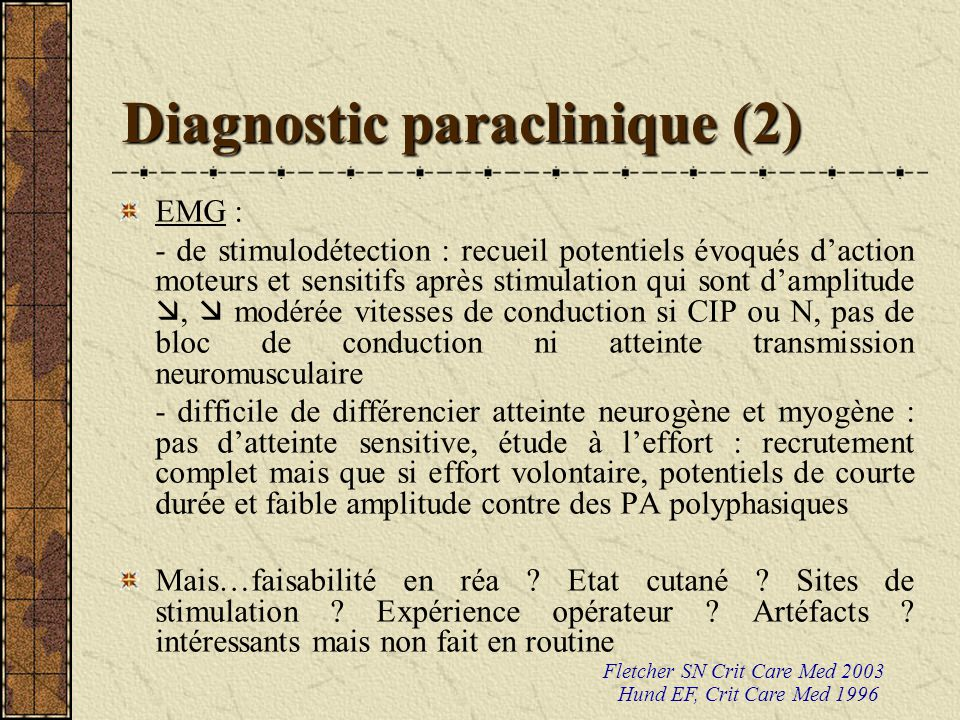 Diagnostic paraclinique (2)