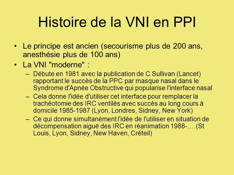 Histoire de la VNI en PPI