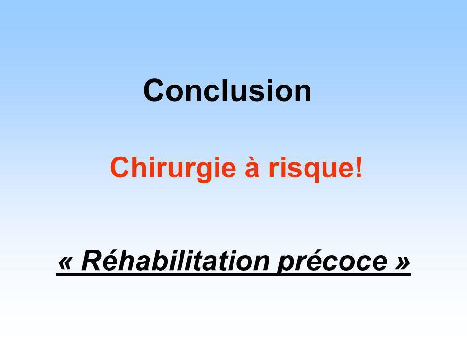 « Réhabilitation précoce »