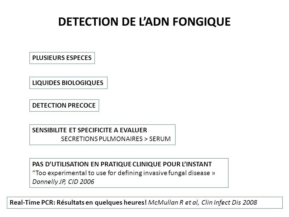 DETECTION DE L'ADN FONGIQUE