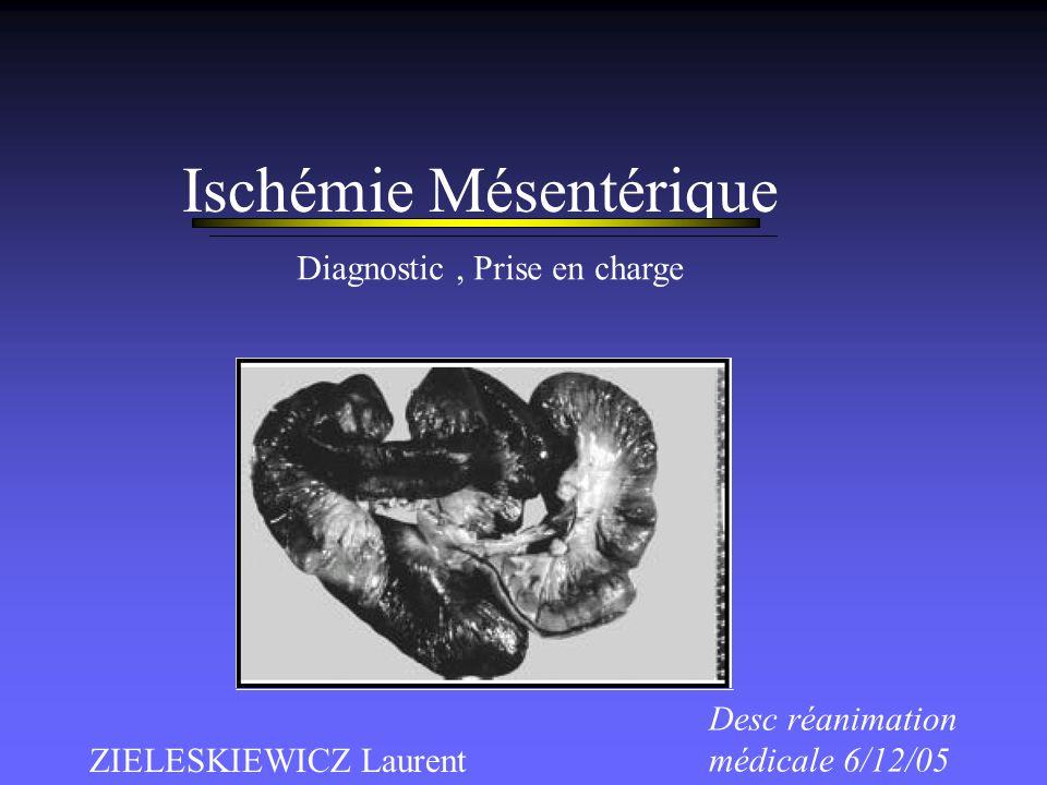 Ischémie Mésentérique