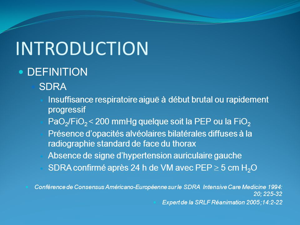 INTRODUCTION DEFINITION SDRA