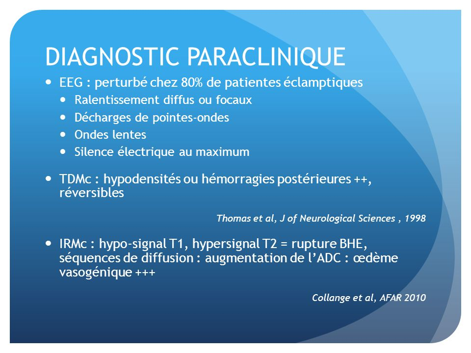 DIAGNOSTIC PARACLINIQUE