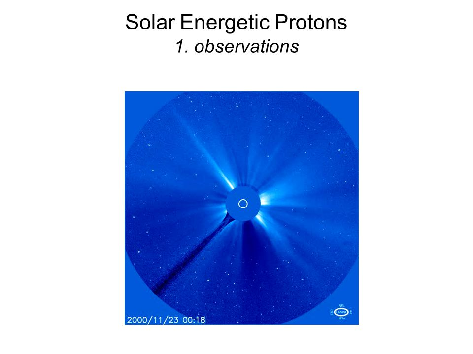Solar Energetic Protons 1. observations