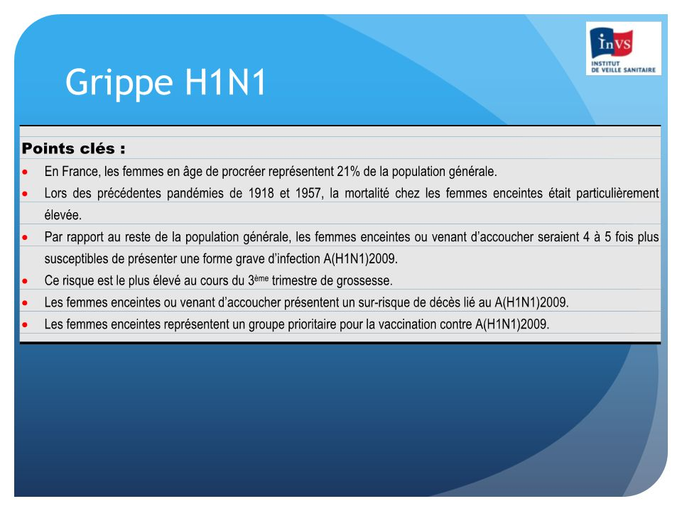 Grippe H1N1