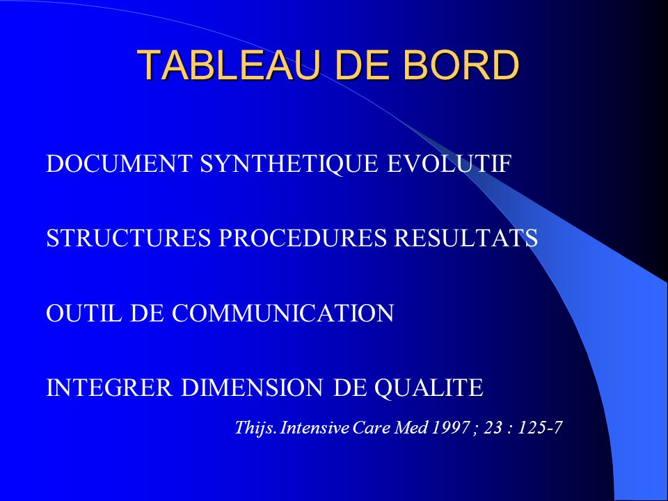 TABLEAU DE BORD DOCUMENT SYNTHETIQUE EVOLUTIF
