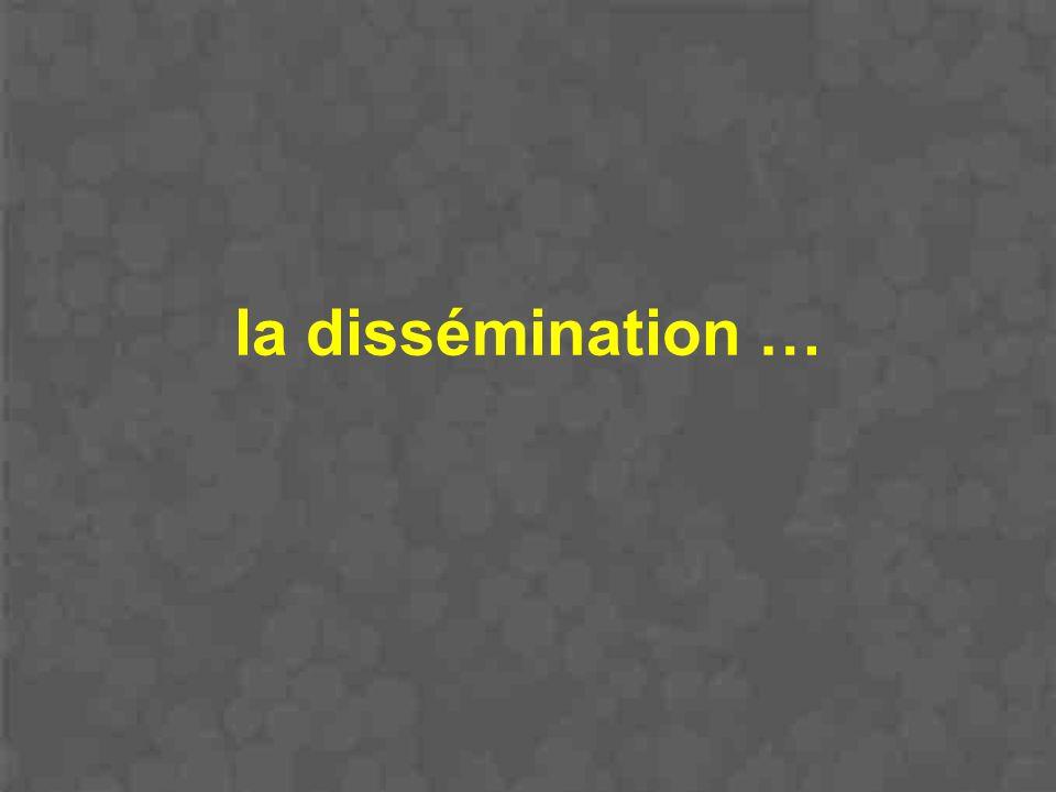 la dissémination …
