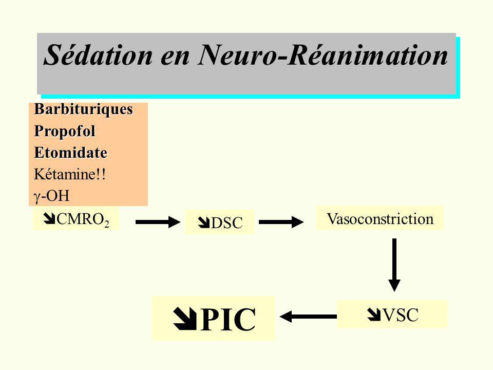Sédation en Neuro-Réanimation