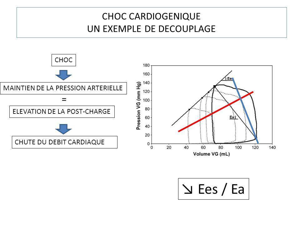CHOC CARDIOGENIQUE UN EXEMPLE DE DECOUPLAGE