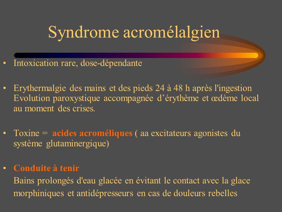 Syndrome acromélalgien