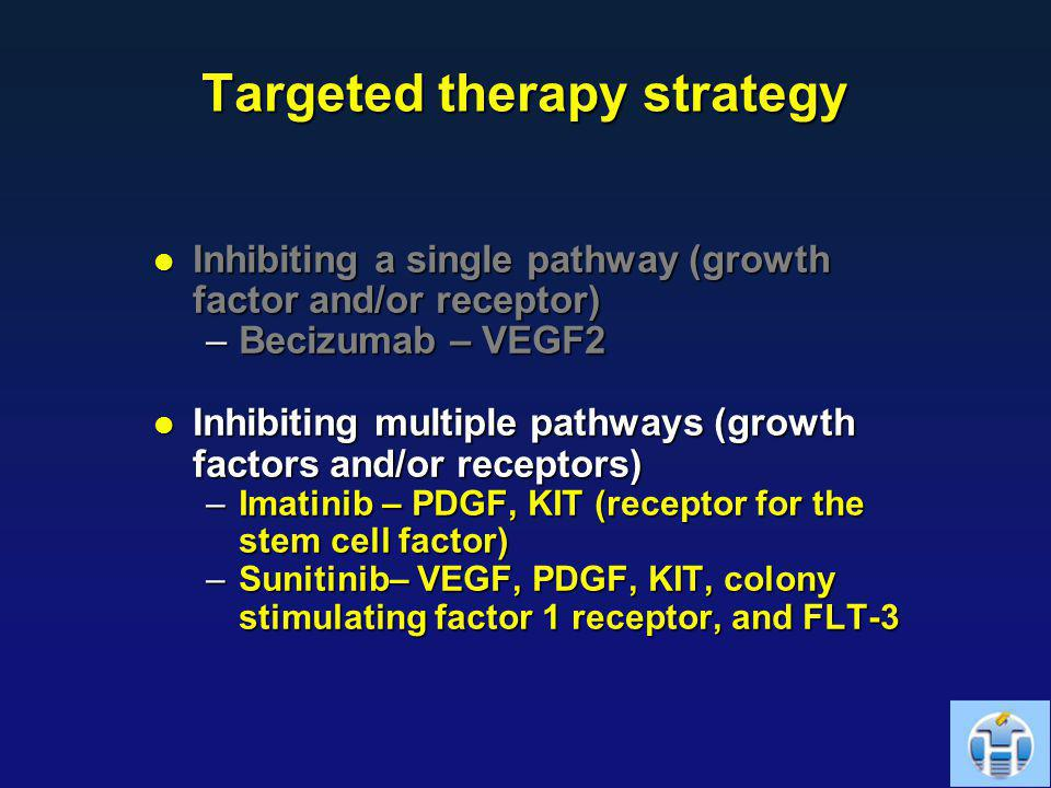 Targeted therapy strategy