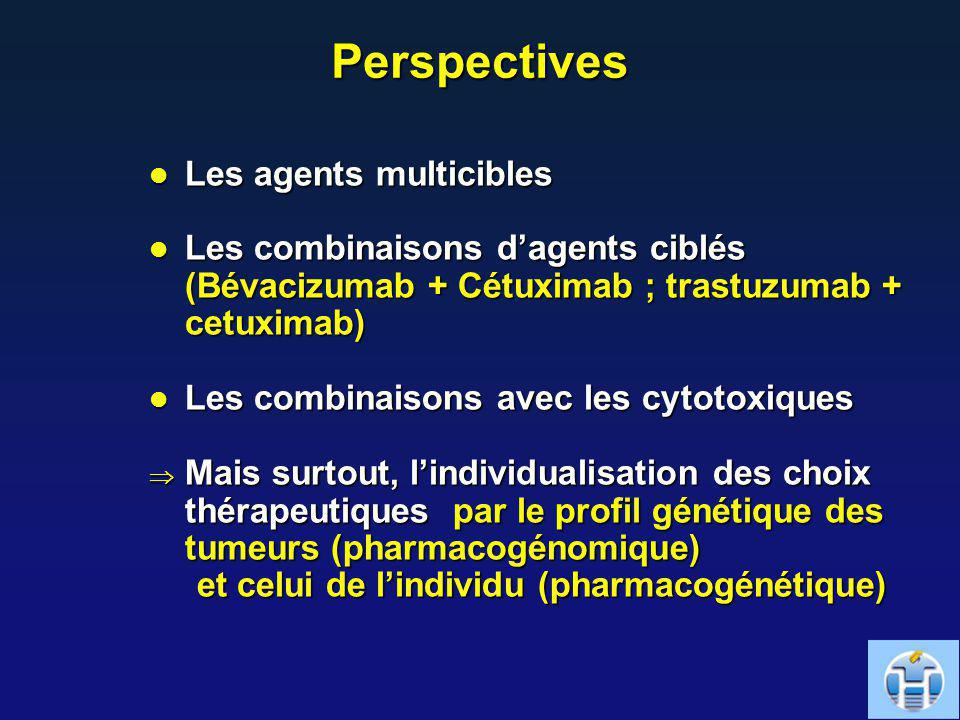 Perspectives Les agents multicibles