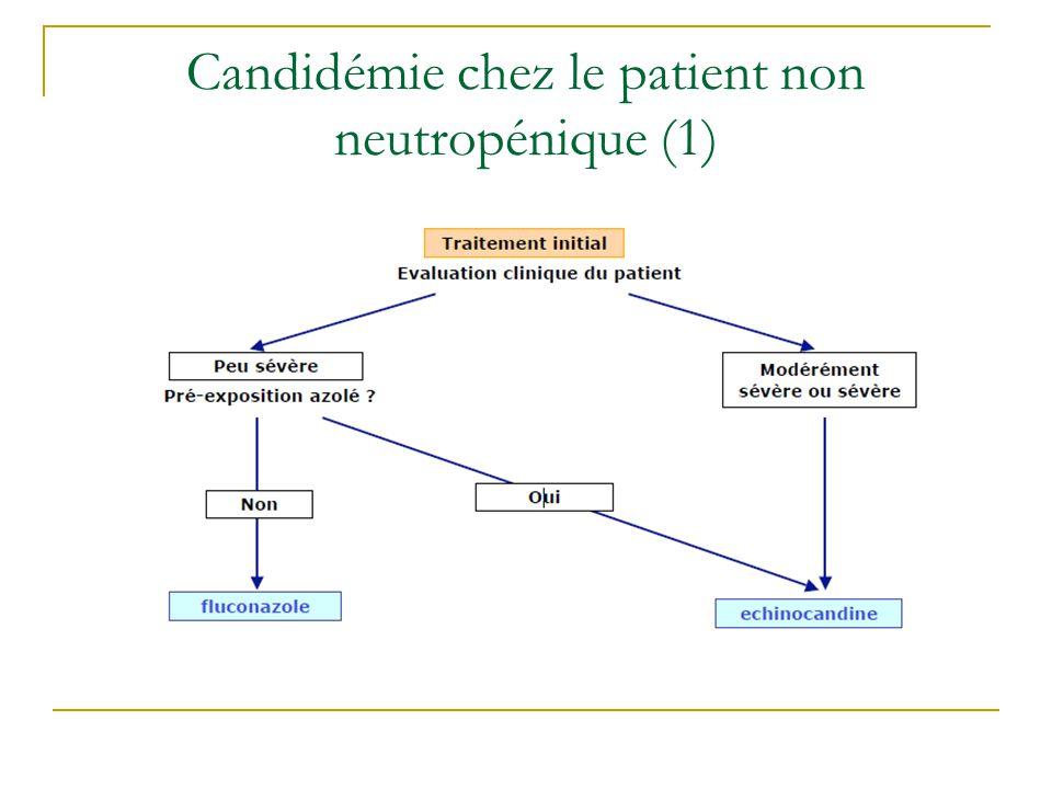 Candidémie chez le patient non neutropénique (1)