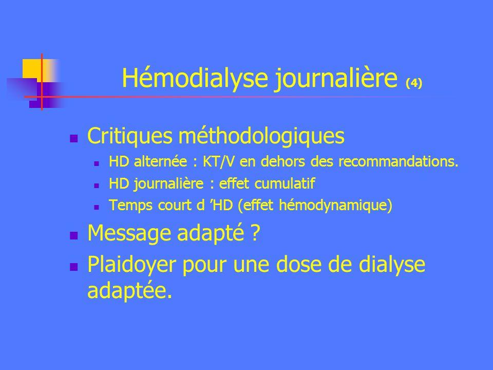 Hémodialyse journalière (4)