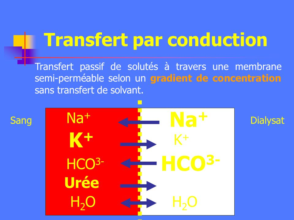 Transfert par conduction