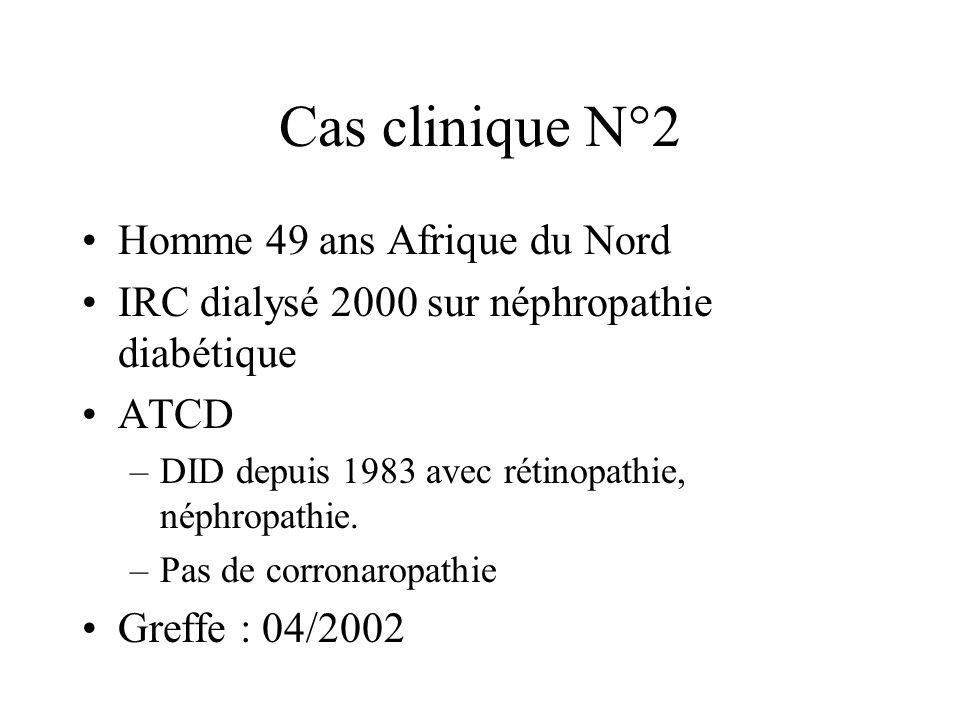 Cas clinique N°2 Homme 49 ans Afrique du Nord