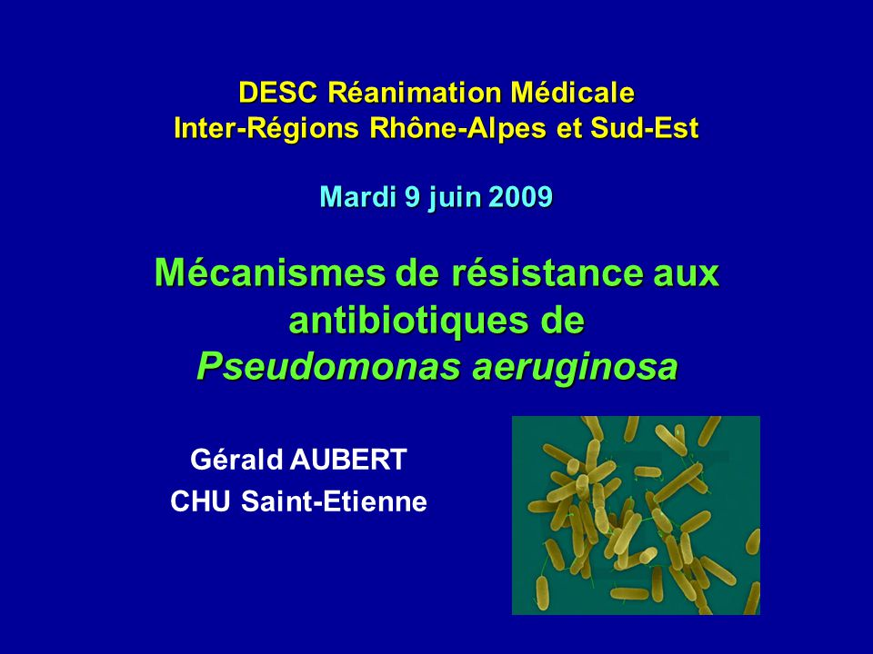 Gérald AUBERT CHU Saint-Etienne