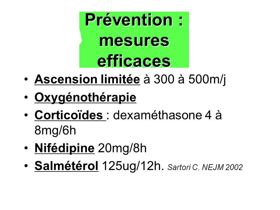 Prévention : mesures efficaces
