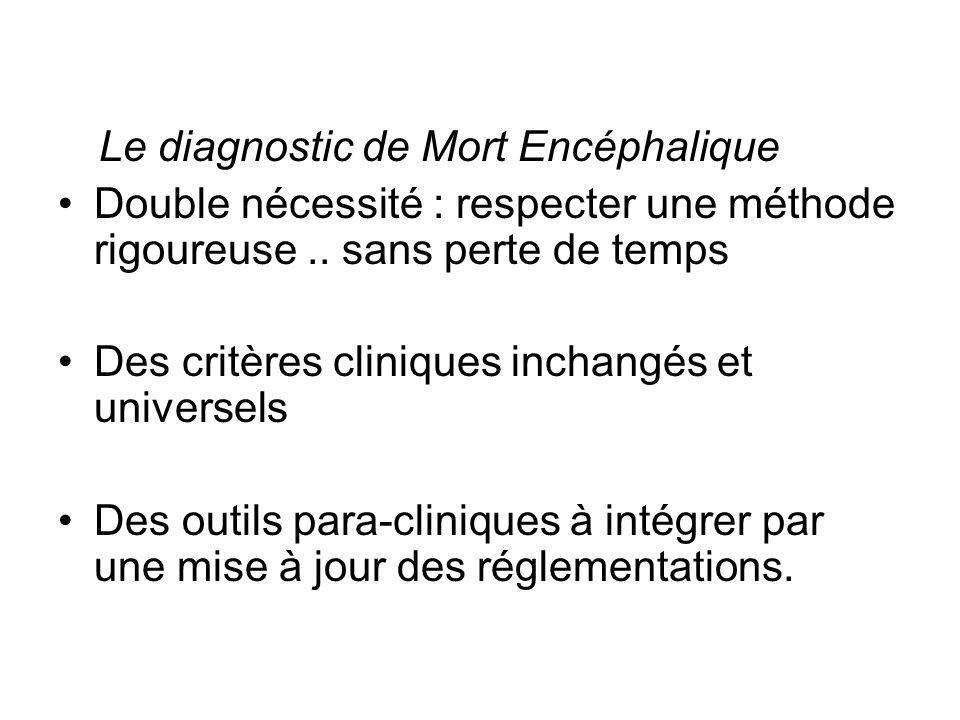 Des critères cliniques inchangés et universels