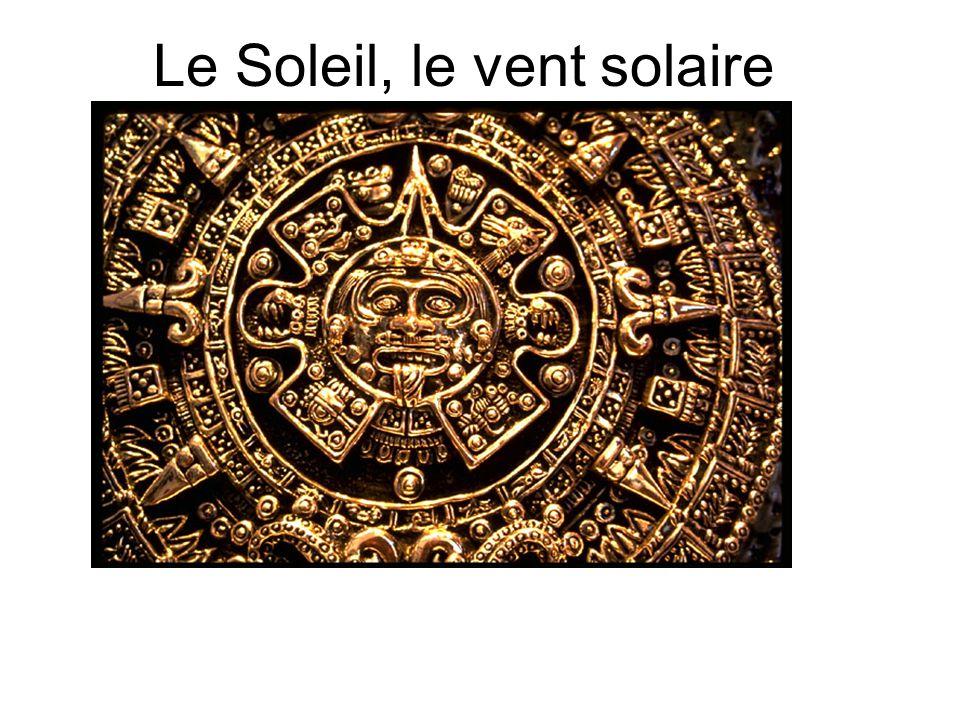 Le Soleil, le vent solaire