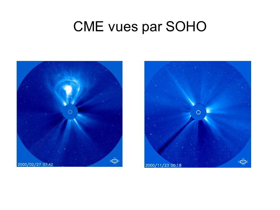 CME vues par SOHO