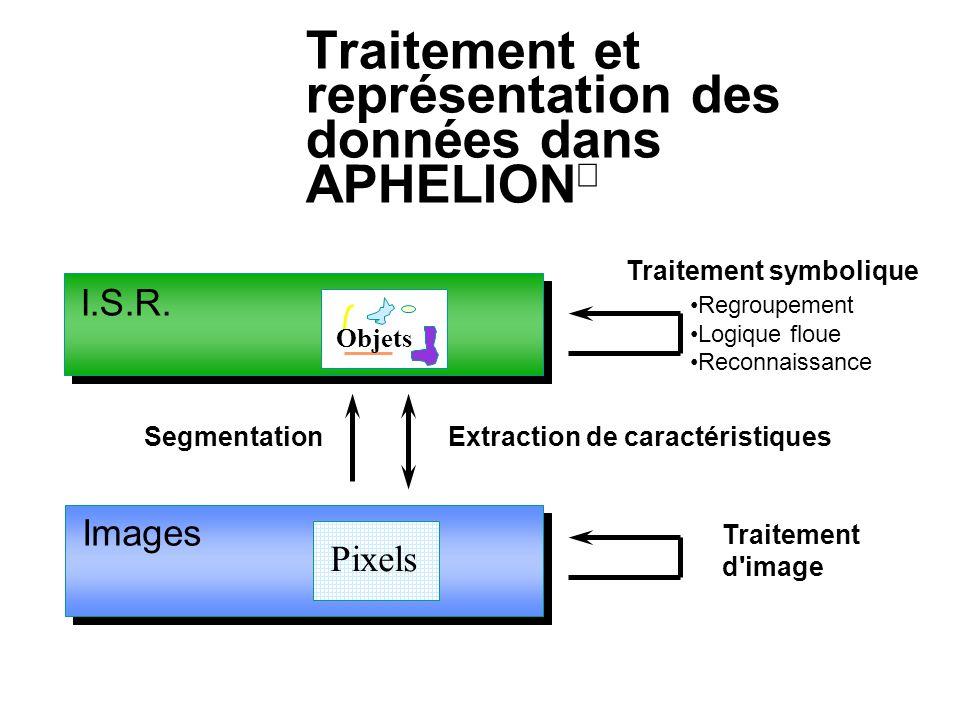 Traitement et représentation des données dans APHELIONâ
