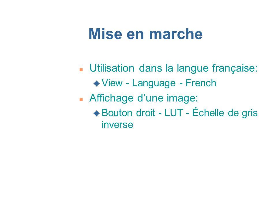 Mise en marche Utilisation dans la langue française: