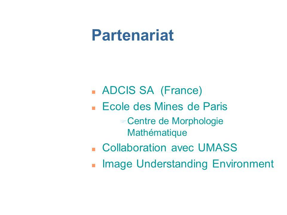 Partenariat ADCIS SA (France) Ecole des Mines de Paris