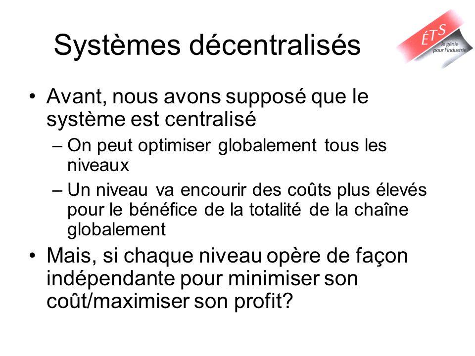 Systèmes décentralisés
