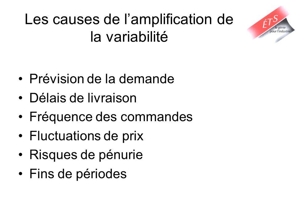 Les causes de l'amplification de la variabilité