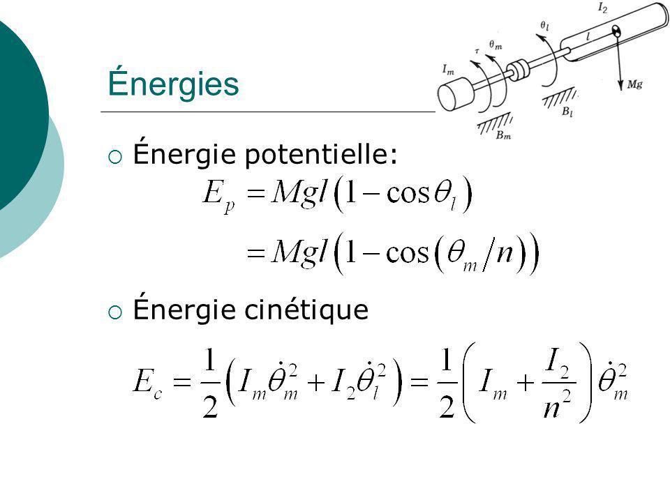 Énergies Énergie potentielle: Énergie cinétique