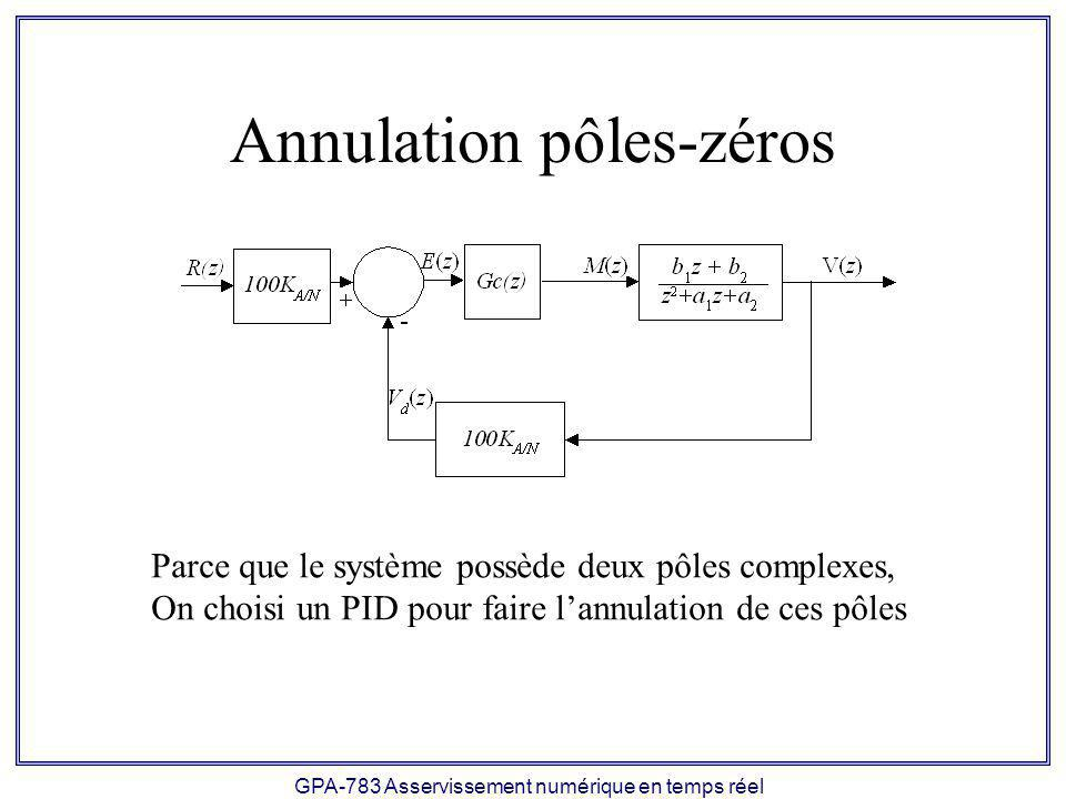 Annulation pôles-zéros