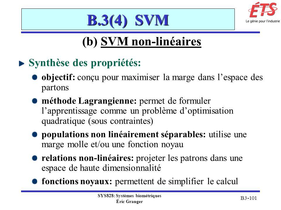 SYS828: Systèmes biométriques