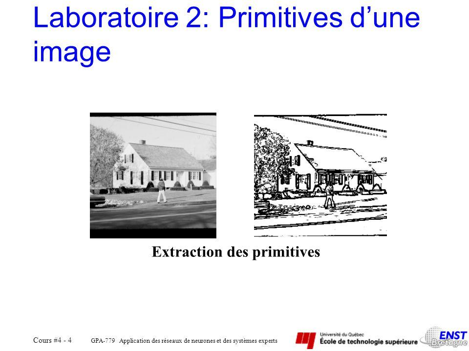 Laboratoire 2: Primitives d'une image