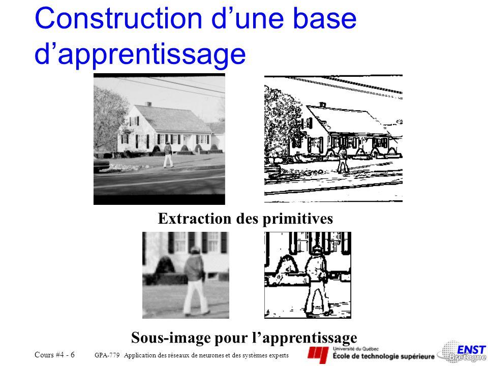 Construction d'une base d'apprentissage