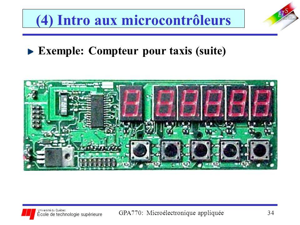 (4) Intro aux microcontrôleurs