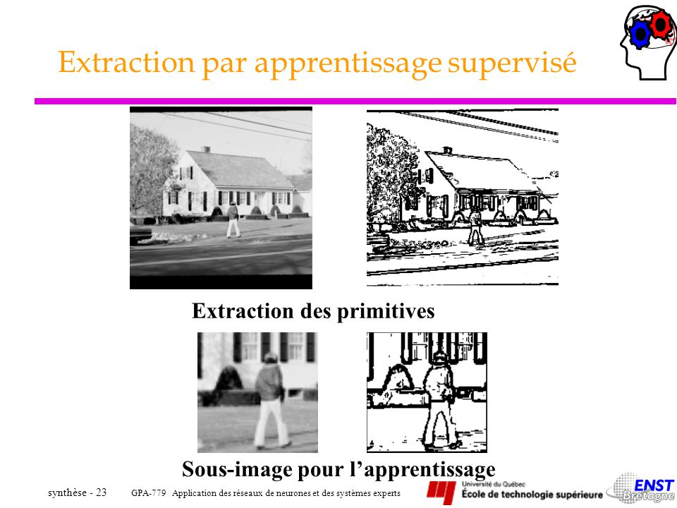 Extraction par apprentissage supervisé