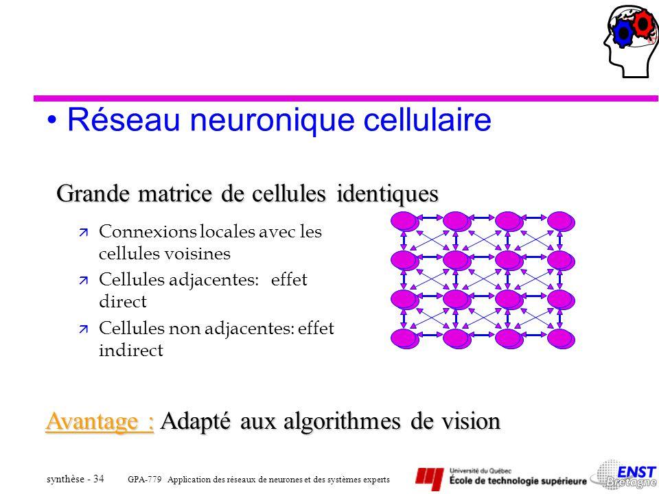 Réseau neuronique cellulaire