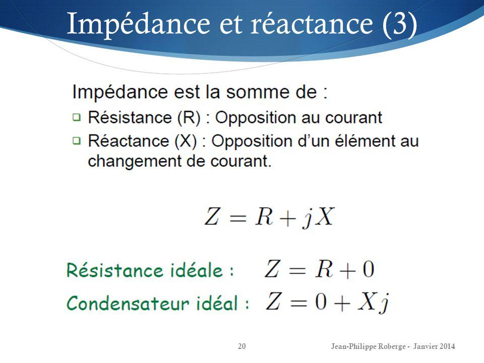 Impédance et réactance (3)