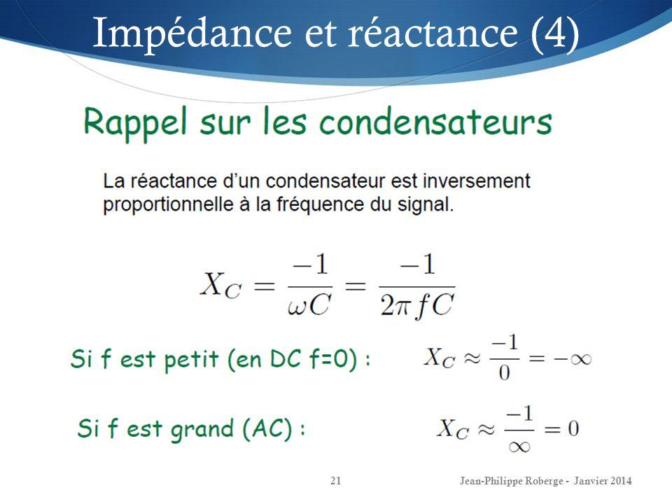 Impédance et réactance (4)