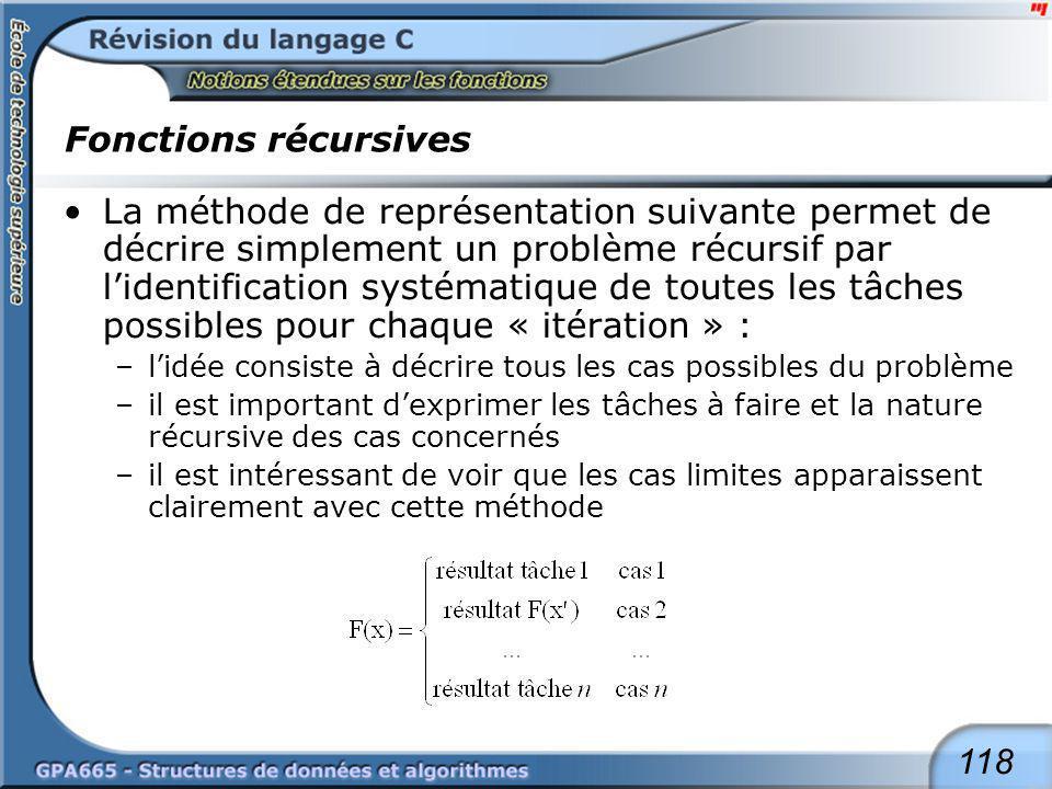 Un autre exemple : le calcul de la factorielle.