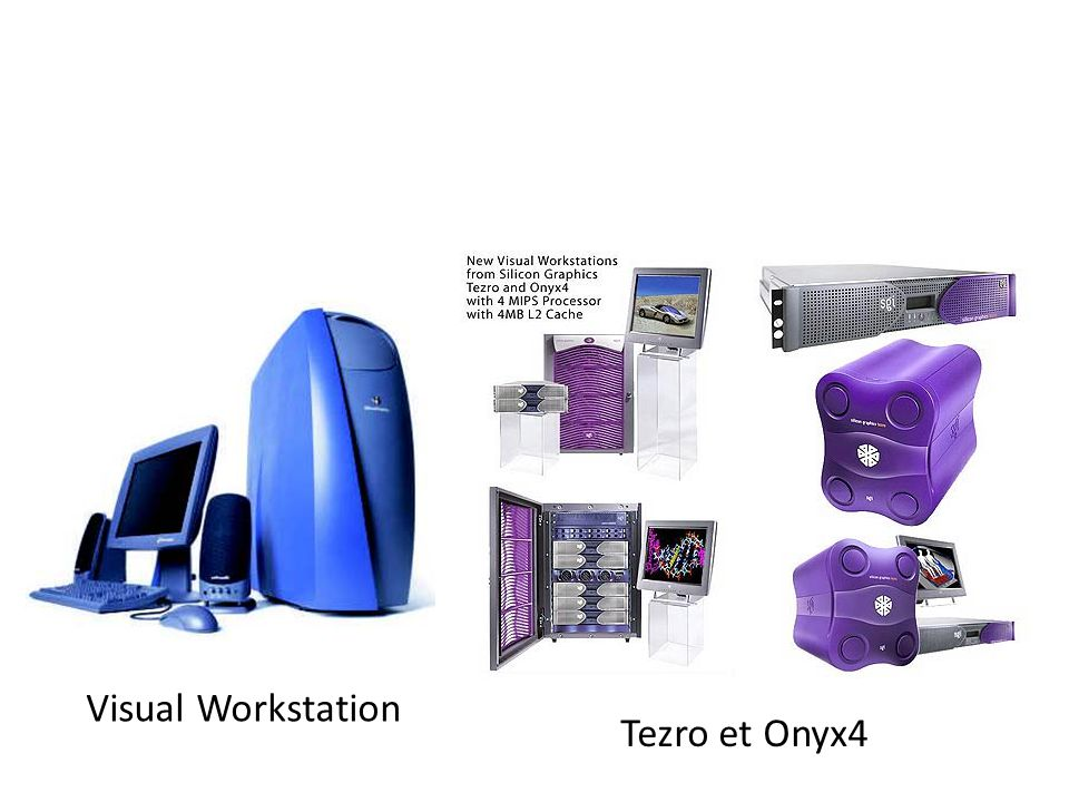 Visual Workstation Tezro et Onyx4