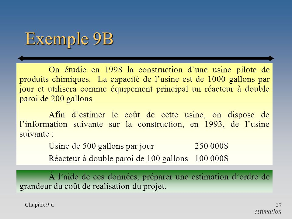 Exemple 9B