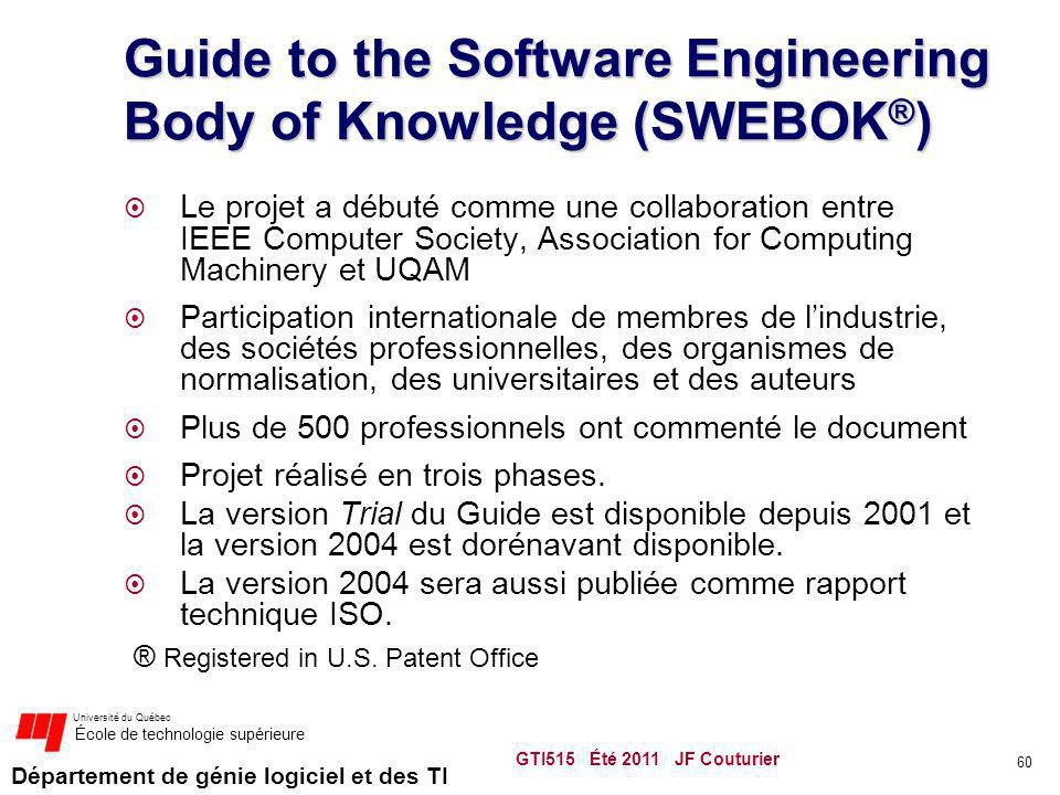 Guide to the Software Engineering Body of Knowledge (SWEBOK®)