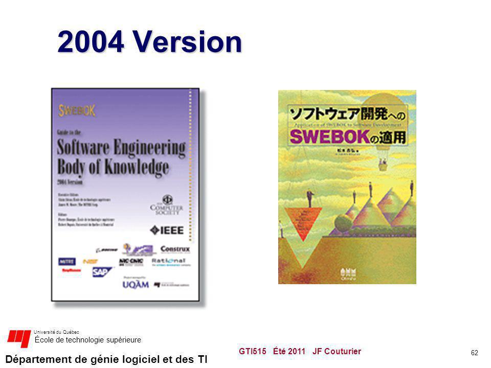 2004 Version GTI515 Été 2011 JF Couturier