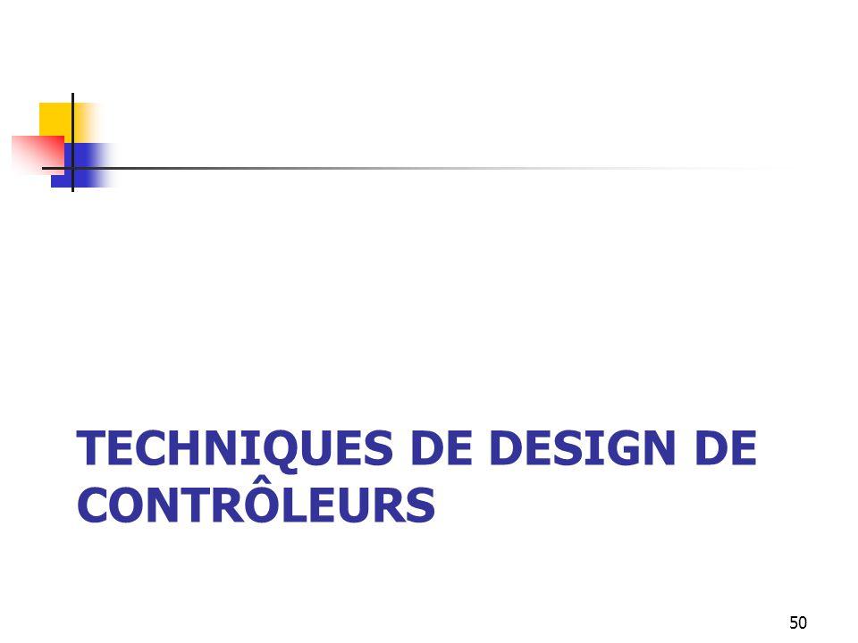 Techniques de design de contrôleurs